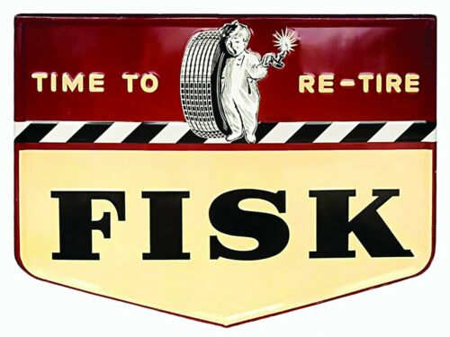 Fisk Boy Tires High Quality Metal Magnet 3 x 4 inches 9141