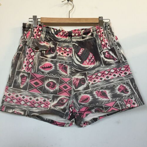 Vtg 1950's Ross Sutherland Hawaiian Swim  Shorts P