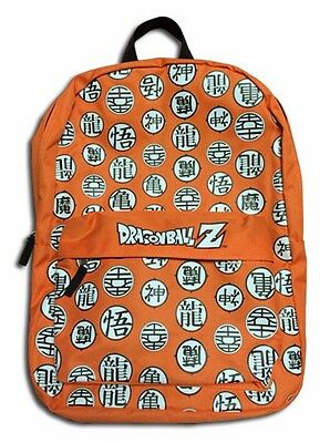 Dragon Ball Z DBZ Symbols Anime Bag Backpack Bag