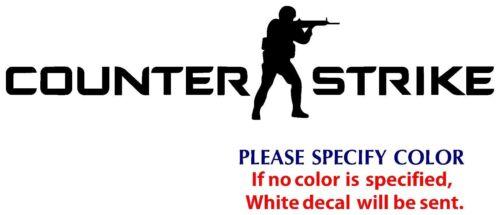 "Counter Strike #2 Graphic Die Cut decal sticker Car Truck Boat  window 12/"""