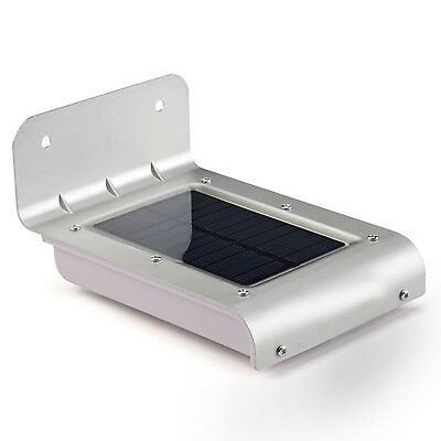 Lampada ad Energia Solare da esterno 16 Led con Pannello solare
