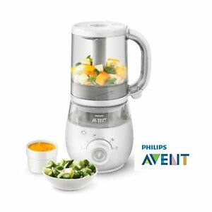 Philips Avent 4 In 1 Healthy Baby Food Maker White Ebay