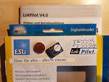 ESU 54614 LokPilot Decoder V4 MTC21 21-pol. MOT/DCC/SX/RailCom NEU OVP