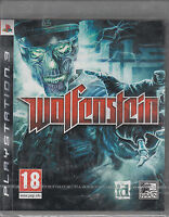 Wolfenstein Ps3 Sony Playstation 3 Brand Sealed Fast Shipping