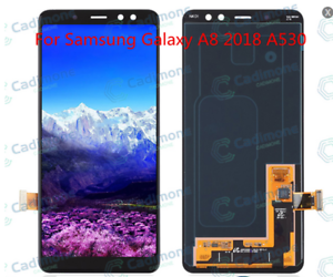 For-Samsung-Galaxy-A8-2018-A530-LCD-Display-Touch-Screen-Digitizer-Assembly-DL