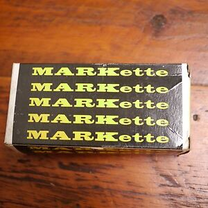 Box Lot of 12 NEW Vintage Eberhard Faber MARKette 680 GREEN Permanent MARKERS