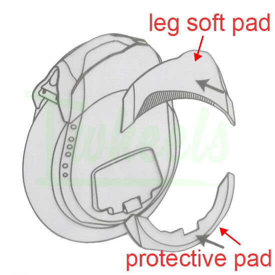 Original Ninebot Z10 Z8 Z6 predective pad leg soft pad electric unicycle parts