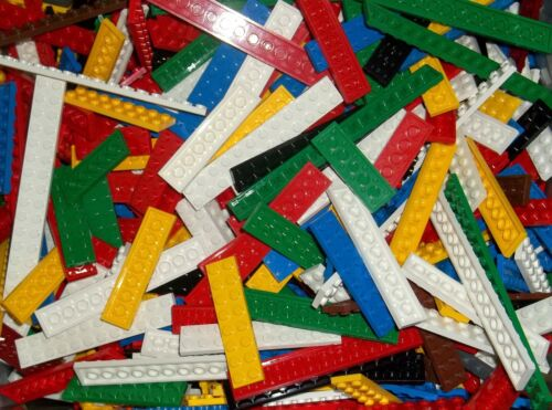 rot LEGO 40 Platten Leisten ab 2 x 6 bunt grün gelb blau Basic Leisten flach