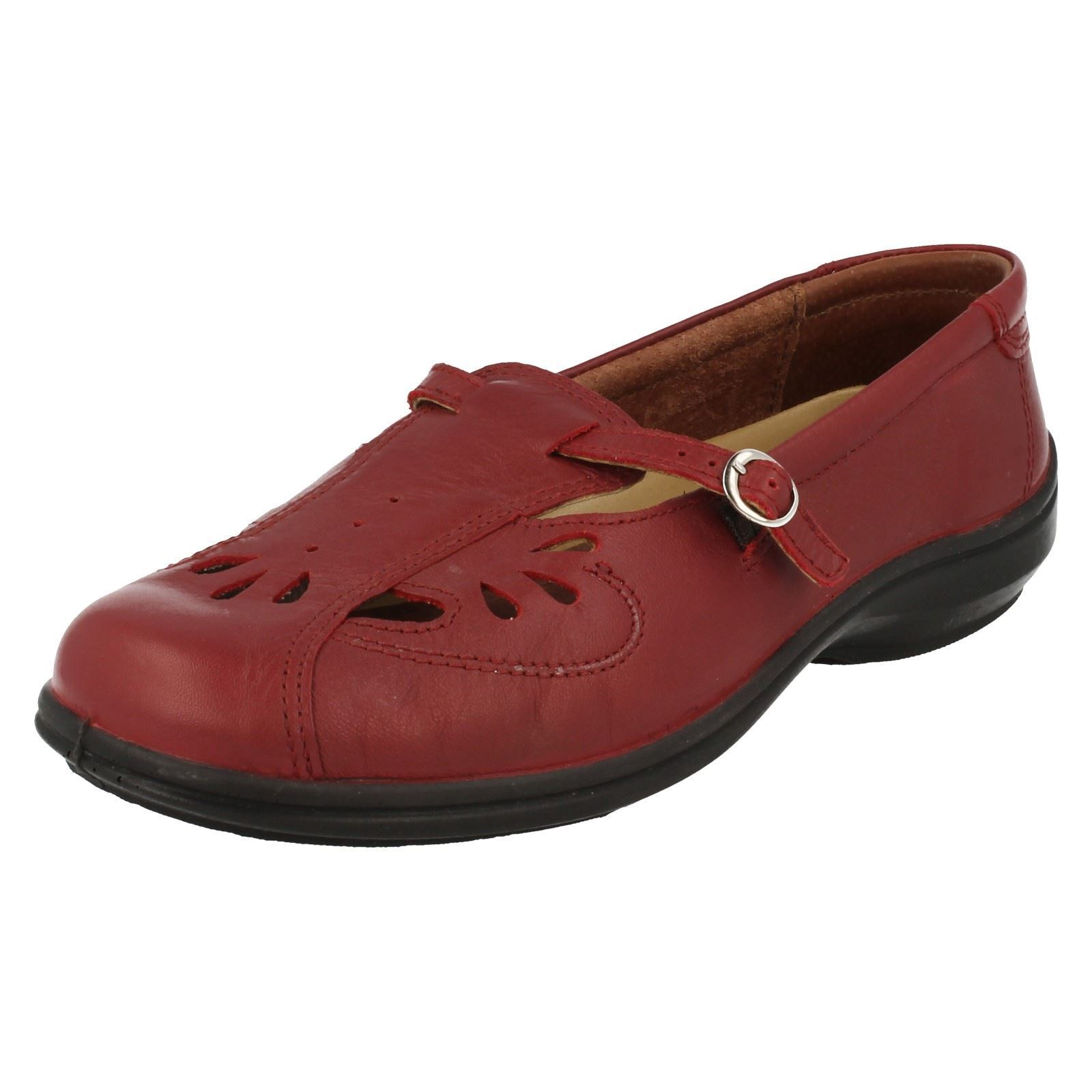 Ladies Easy B Flat shoes 'Winchcombe'
