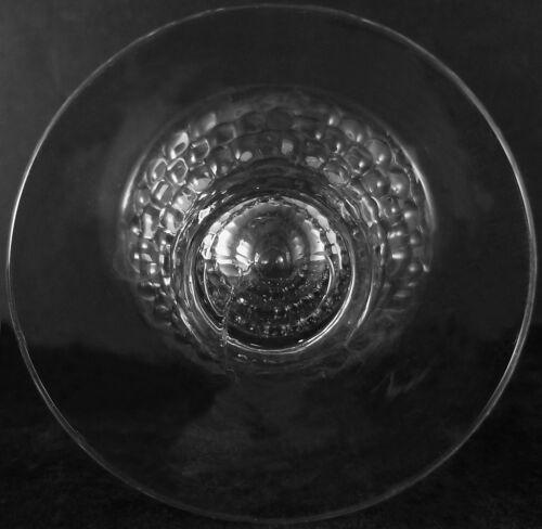Vintage Duncan /& Miller Clear Crystal Tear Drop Pattern 4.5oz Ftd Juice Tumbler