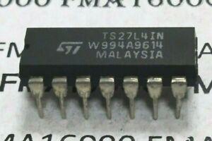 "TS27L4IN ""INDUSTRIE ""DIP16 ORIGINAL ST-THOMSON TS27L4-IN TS27L-4CN   27L4IN NEUF"
