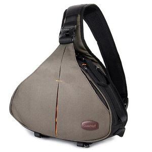 Caseman C10 DSLR SLR Camera Bag Shoulder Triangle Case messenger waterproof New
