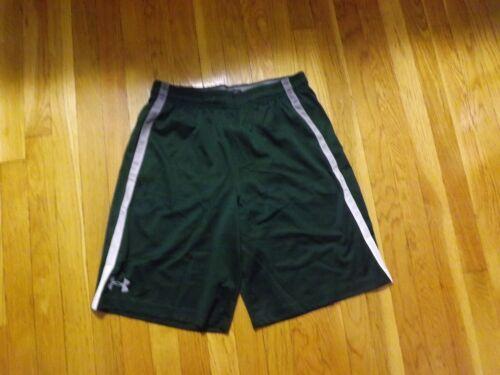 Under Armour Men/'s UA Tech Mesh HeatGear Shorts Sz Large Green NWT