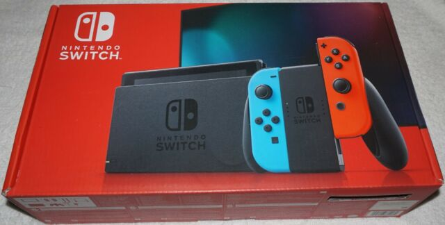 Nintendo Switch 32GB Neon Red/Neon Blue Console NEW