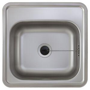 Waschbecken küche edelstahl  E38 | Edelstahl Spülbecken klein Edelstahlspüle Einbau Waschbecken ...