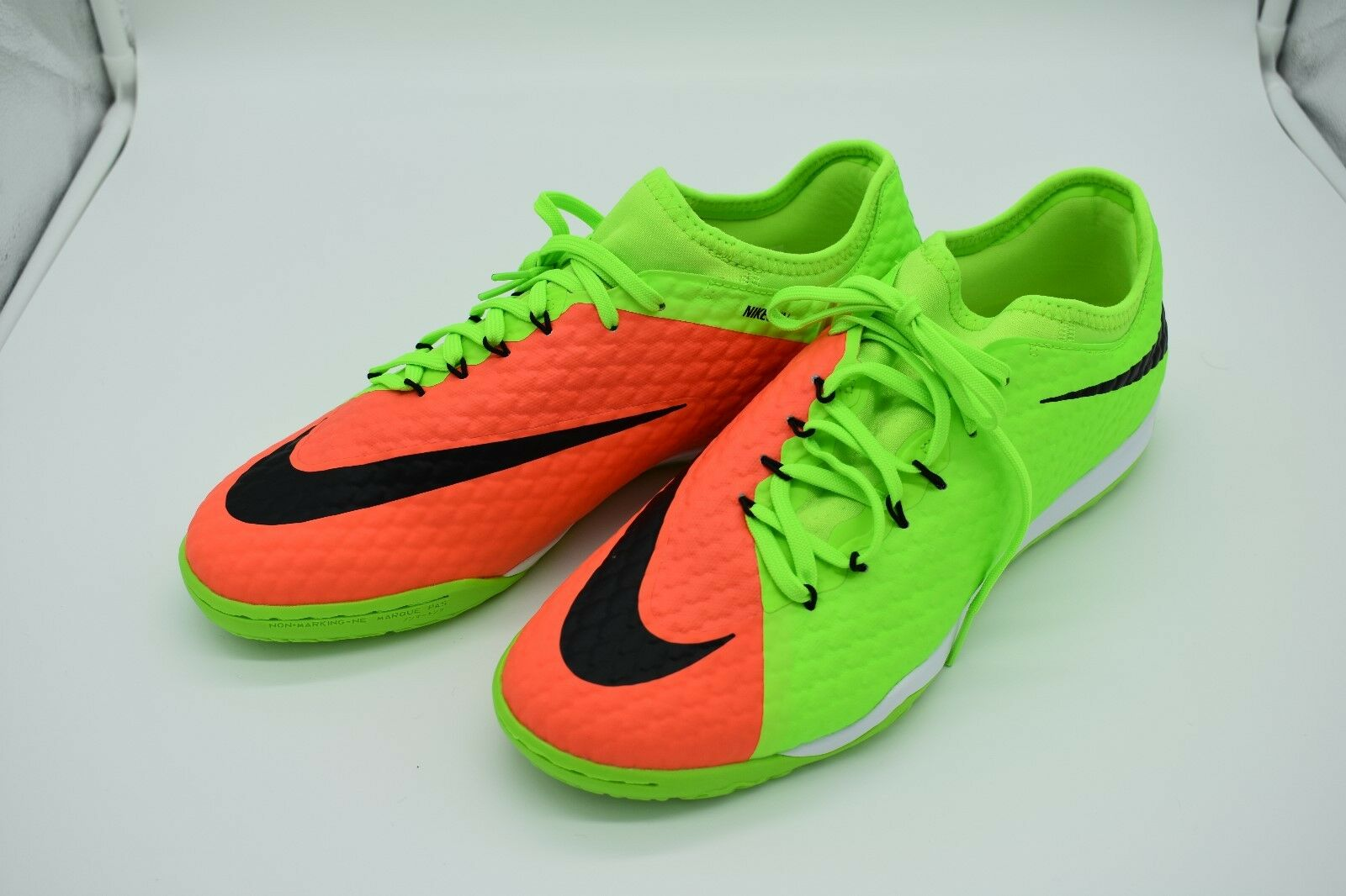 Nike hypervenomx finale ii ic uomini ?? s indoor 852572-308 scarpe taglia