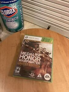 Medal of Honor: Warfighter Limited Edition (Microsoft Xbox 360, 2012) NEW SEALED