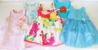 Girls Fancy Party Sleeveless Easter Birthday Dress Outfit 2t 2 Years U Pick