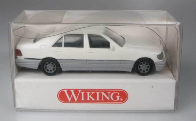 Wiking 1:87 158 04 20 Mercedes Benz S 500 weiss OVP
