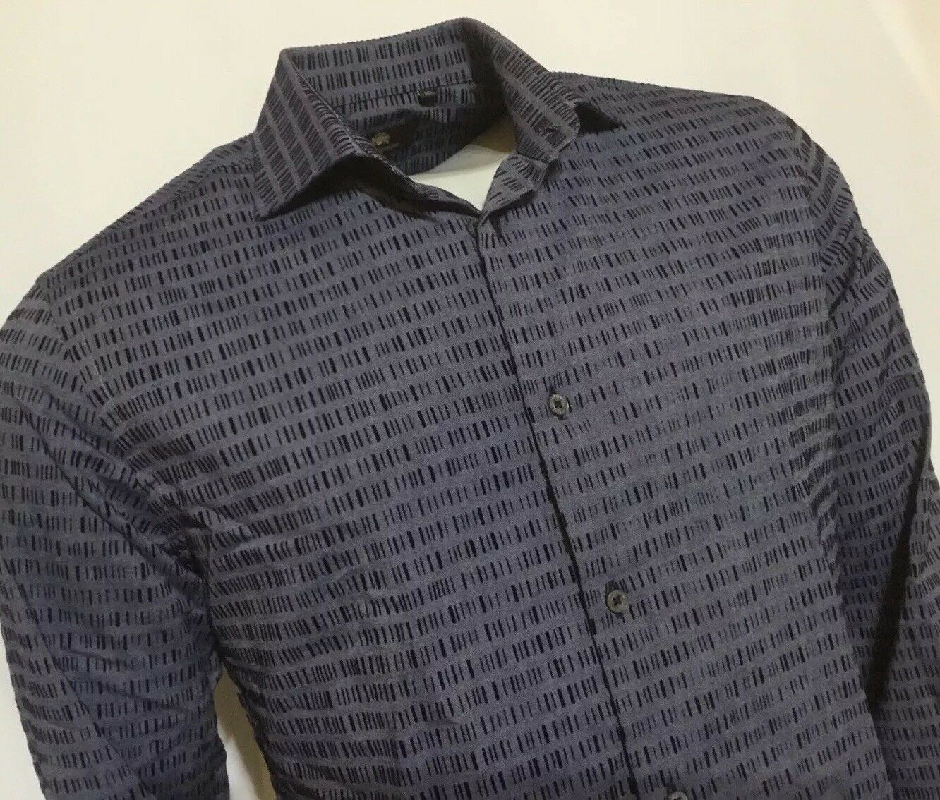 "Circle of Gentlemen 14 1 2"" Collar  40"" Chest  bluee Cotton Shirt RRP"