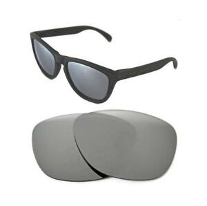 50a10501f99e5 Image is loading NEW-POLARIZED-CUSTOM-SILVER-ICE-LENS-FOR-OAKLEY-