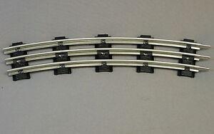 LIONEL-O-GAUGE-TRACK-O54-CURVE-54-034-INCH-diameter-train-curved-metal-6-65554-NEW