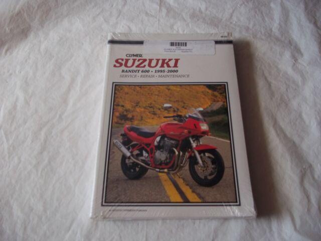 Suzuki Bandit 600 Clymer Service Manual 1995
