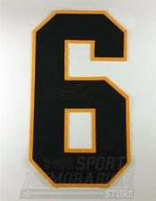 """Mario Lemieux Pittsburgh Penguins signed autographed jersey number 12"""""""