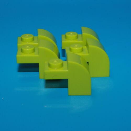 Modified 1 x 2 x 1 1//3 vert clair 6091 Lego ® 5x Pierre