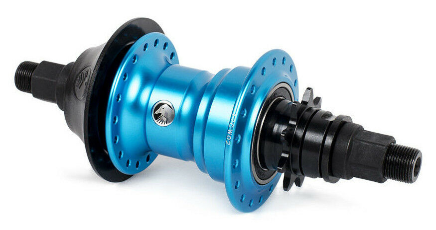 SHADOW CONSPIRACY OPTIMIZED Freecoaster Trasero HUB RHD Bicicleta BMX Azul Nuevo Sellado