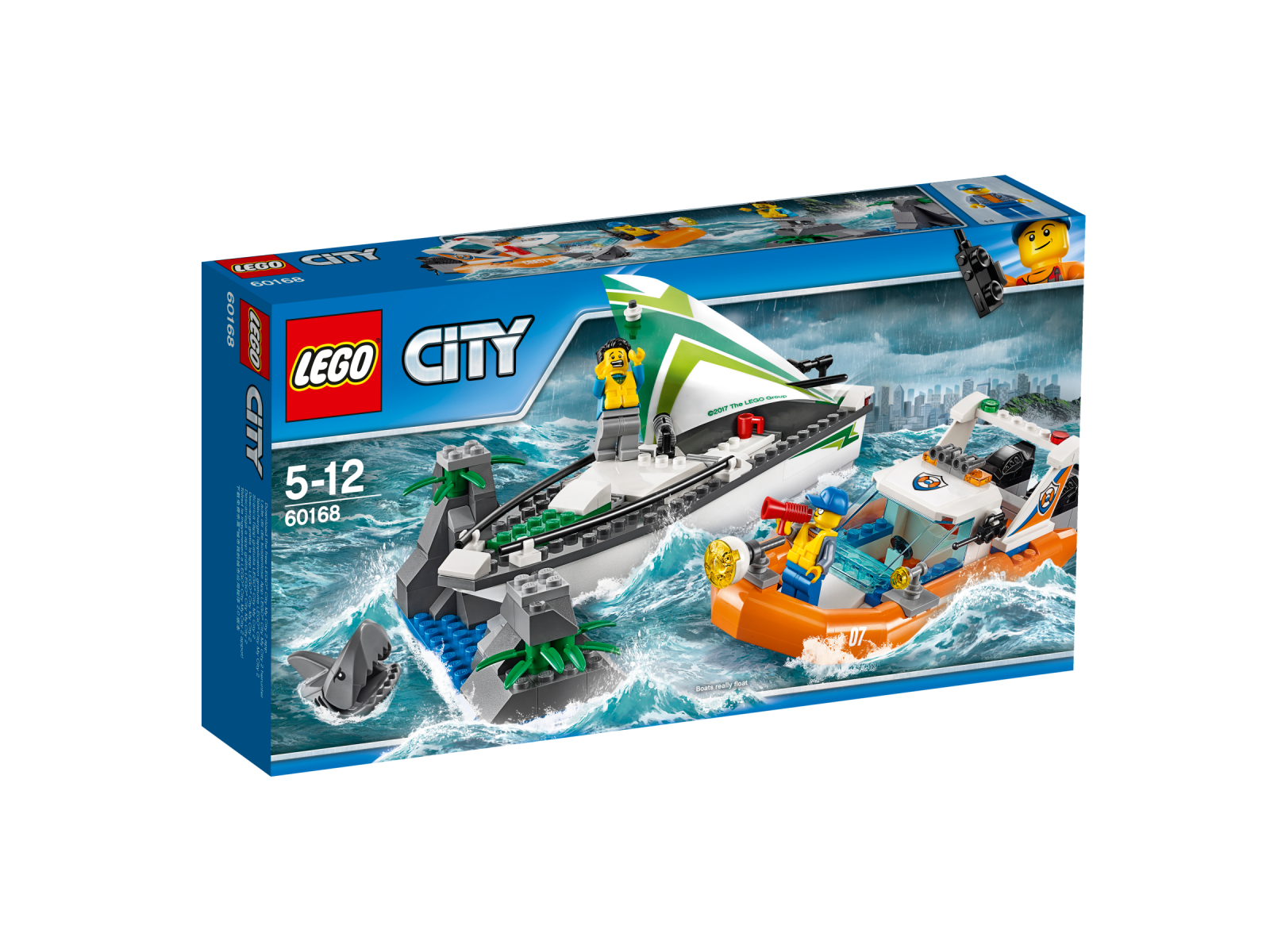 LEGO® City 60168 SegelStiefel in Not NEU OVP_ Sailboat Rescue NEW MISB NRFB