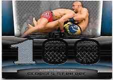 Topps UFC Title Shot Mat Relic Gear Card Georges St-Pierre FM-GSP
