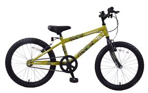 Professional SAS Army 20  Wheel Boys Kids Mountain Bike Single Speed Green Camo