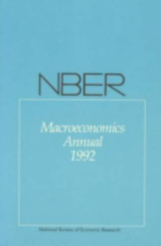 NBER Macroeconomics Annual 1992