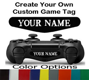 Playstation 4 ps4 controller led custom gamer tag name light bar image is loading playstation 4 ps4 controller led custom gamer tag aloadofball