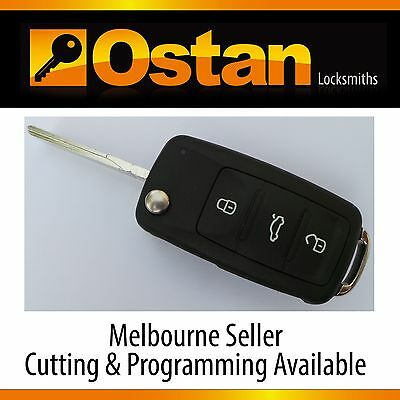 VW Volkswagen JETTA 2006-2010 Fully Functional Remote Key Fob (Aftermarket)