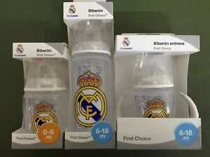 Nuk Real Madrid biberón de silicona BPA Gratuito