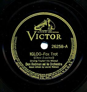DON REDMAN Orch. on 1939 Victor 26258 - Igloo / Chew Chew Chew (Your Bubble Gum)