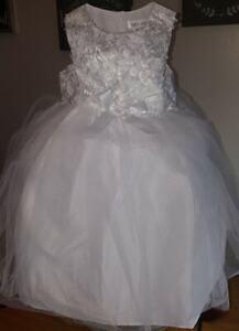 2f9415ec220 Tevolio Toddler Girl Ballerina Princess Flower Girl Easter Dress 3t White