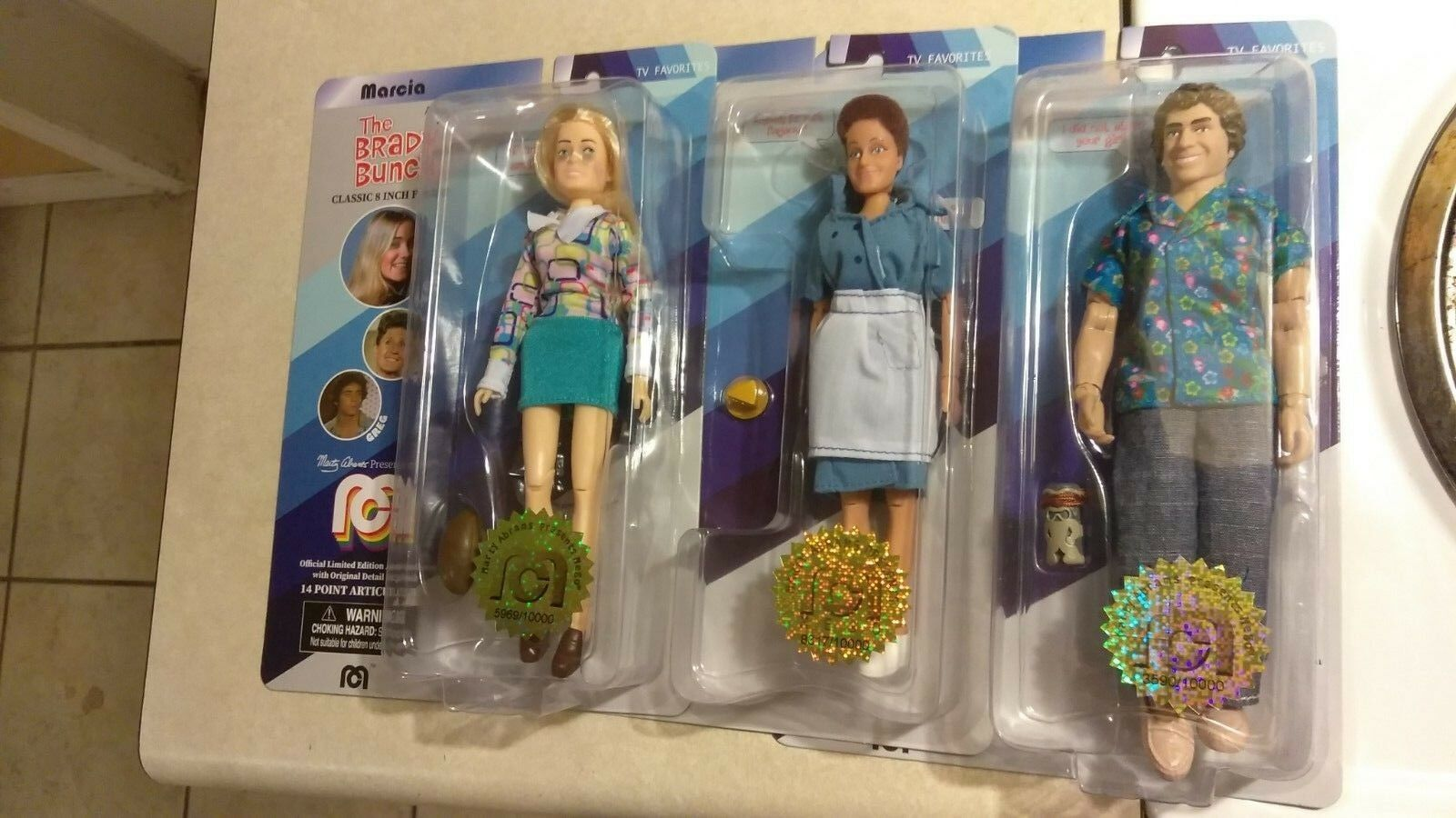 BROKEN MARCIA BUNCH BRADY THE FIGURES MEGO 2018 NOSE) ACTION