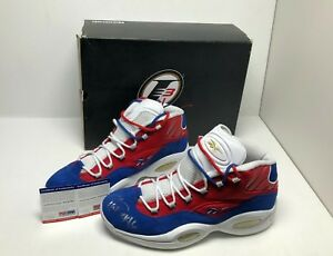 067f6ea7c20f63 Image is loading Allen-Iverson-Signed-Reebok-Question-Mid-Basketball-Shoes-