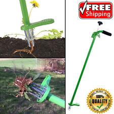 Weed Zinger Stand-Up Garden Weeding Remover Tool Spring Release Telescoping Hand