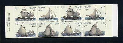 Genial Aland Nr.95-98 ** Markenheftchen Mh3 Segelboote Der SchÄren 141086 Modern Und Elegant In Mode