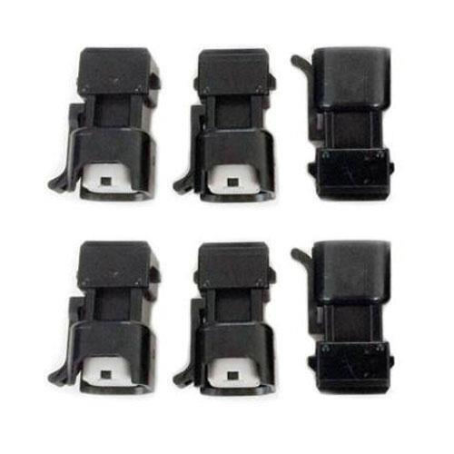 6x Fuel Injector Connector Plug and Play adapter EV6 EV14 Female to EV1 Male NEW