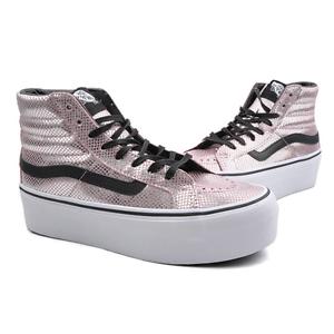 Nuevas Vans Mujer SK8 Hi Plataforma Hi-tops Pink Pearl nos W 8.0-8.5 ... a4f8cb77ae6