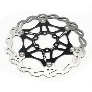 Bicicleta-De-Montana-Freno-de-Disco-Bicicleta-pad-flotante-de-disco-de-freno-180-160-203-mm-Nuevo
