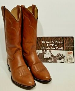 Boots Brown In Mens 7 Taille J American Made Usa all D Chisholm 5HaqxTE