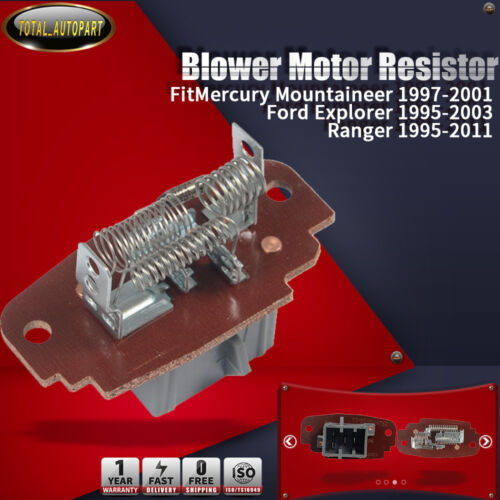 A//C Heater Blower Motor Resistor for Ford Explorer 95-03 Ranger 95-11 Mercury
