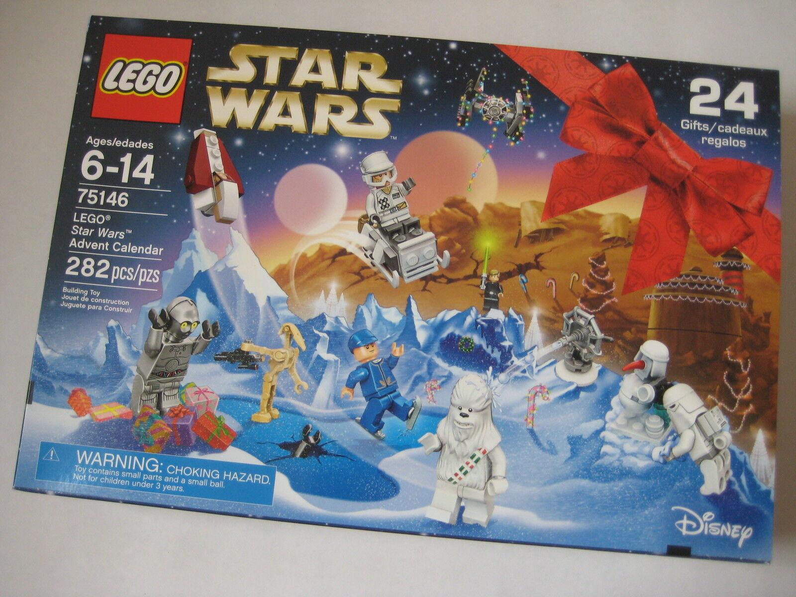 New Calendar Lego Star Wars Advent Calendar New 75146 Holiday