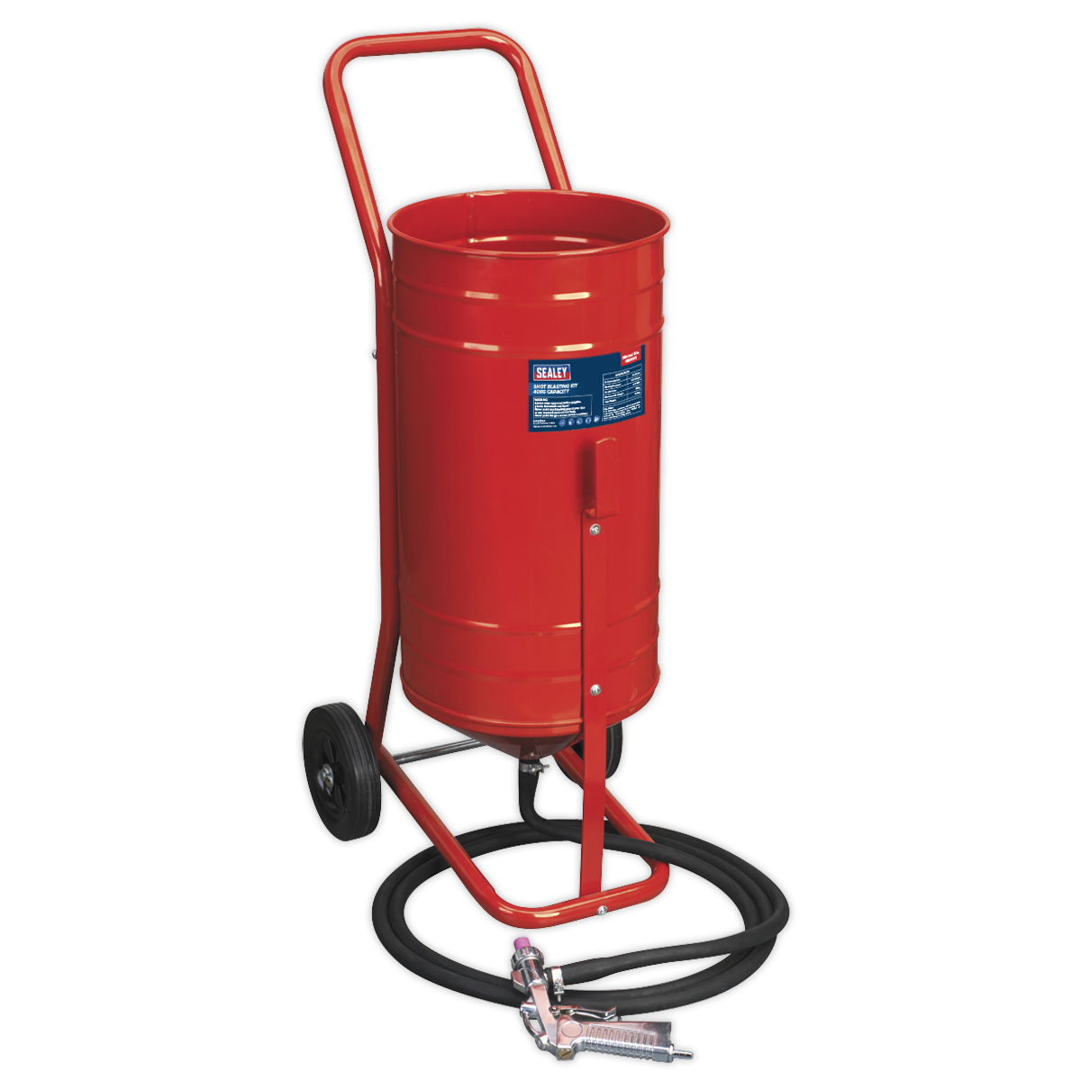 Shot Blasting Kit 40kg Capacity   SEALEY SB995 by Sealey   New